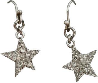 Marc by Marc Jacobs Silver Metal Earrings