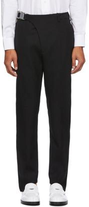 Alyx Black Stirrup Suit Trousers