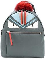 Fendi Bag Bugs backpack - women - Fox Fur/Leather/Nylon/Polyester - One Size