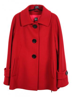 Cinzia Rocca Red Wool Coats