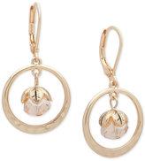 lonna & lilly Gold-Tone Orbital Drop Earrings