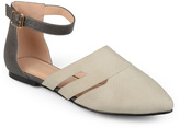 Journee Collection Gray Lindon Ballet Flat