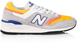 New Balance 997 Made in US Colorblock Sneakers