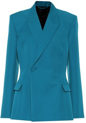Balenciaga Waisted technical-twill blazer