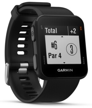 Garmin Unisex Approach S10 Black Silicone Strap Smart Watch 40mm