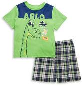Nannette Boys 2-7 Good Dinosaur Tee and Shorts Set