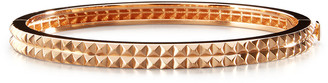 Roberto Coin 18K Rose Gold Pyramid Rock & Diamonds Bangle