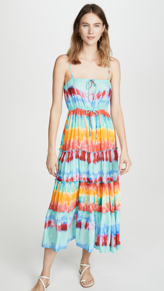Playa Lucila Tie Dye Dress