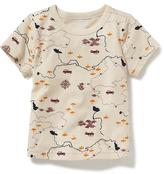 Old Navy Graphic Crew-Neck Tee for Baby