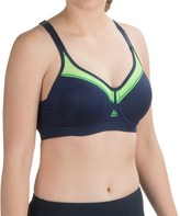 RBX Motion Control Sports Bra - Medium Impact, Racerback, Underwire Support (For Women)