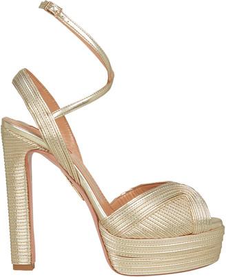 Aquazzura Caprice Platform Sandals