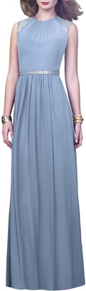 Dessy Collection Embellished A-Line Gown