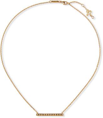 Chopard 18k Ice Cube Diamond Bar Necklace