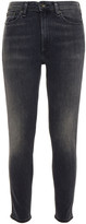 Thumbnail for your product : Rag & Bone Cropped Faded Mid-rise Skinny Jeans