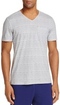 Daniel Buchler Stripe Pima Cotton Blend Tee