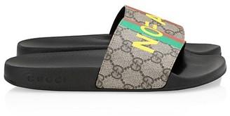 Gucci Pursuit Fake Slides