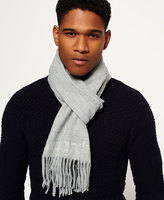 Superdry Solid Capital Tassel Scarf