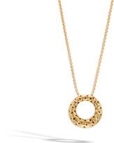 John Hardy Women's Classic Chain Pendant Necklace in 18K Gold