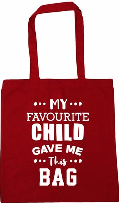 Hippowarehouse My favourite child gave me this bag Tote Shopping Gym Beach Bag 42cm x38cm 10 litres