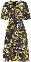 Max Mara S Joy linen and cotton midi dress
