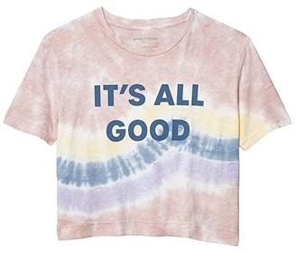 good hYOUman Finny Its All Good Tee (Sandstone Tie-Dye) Women's Clothing