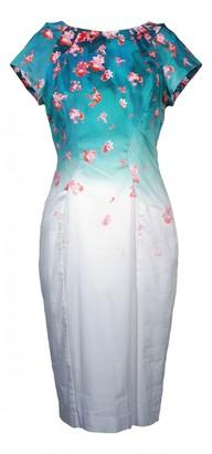 Zac Posen Blue Cotton Dresses