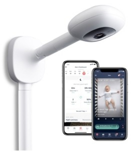 Nanit Plus Smart Baby Monitor and Wall Mount