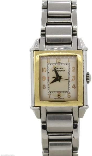 Girard Perregaux Girard-Perregaux Vintage 1945 18K Yellow Gold & Stainless Steel Watch