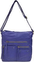 JCPenney Bueno Of California Bueno Multi-Zip Crossbody Bag