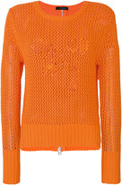 Unconditional mesh knit jumper