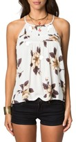 O'Neill Women's Olympia Floral Print Woven Top