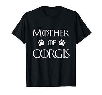 Corgi Dog Mom Shirt - Mother of Corgis