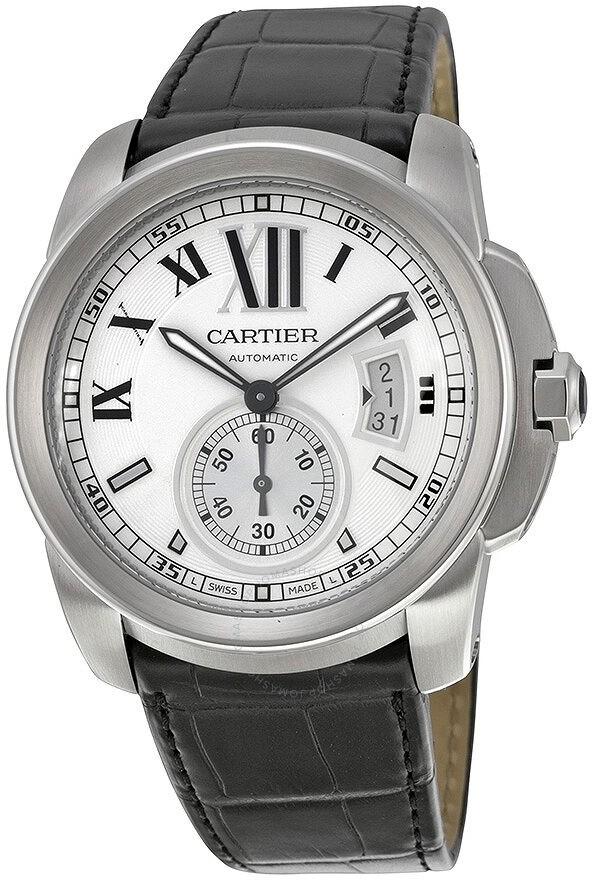 Cartier Calibre De Silver Dial Men's Watch