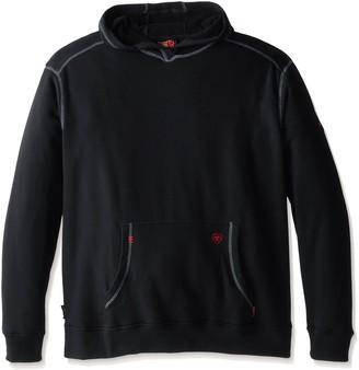 Ariat Men's Big and Tall Flame Resistant Polartec HoodieShirt