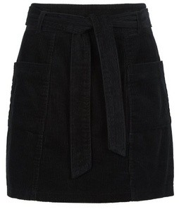 Dorothy Perkins Womens **Lola Skye Black Paperbag Skirt, Black
