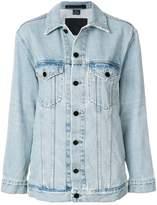 Alexander Wang loose-fit denim jacket