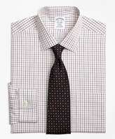 Brooks Brothers Non-Iron Regent Fit Triple Shadow Check Dress Shirt