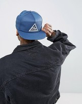 Obey Snapback Cap With Triangle Logo