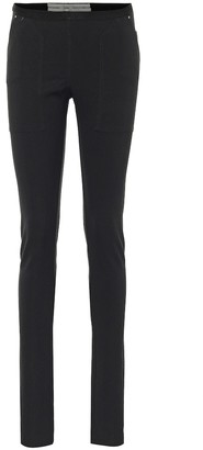 Rick Owens Cotton-blend jersey leggings