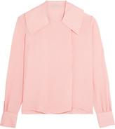 Emilia Wickstead Silk-cloqué blouse