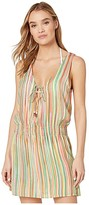 Becca by Rebecca Virtue Kasbah Mila Sleeveless Tunic Cover-Up (Spice) Women's Swimwear