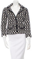 Tory Burch Patterned Blazer