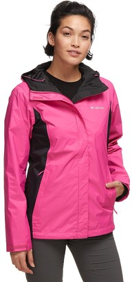 Columbia Tested Tough In Pink II Rain Jacket - Women's