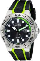 Citizen Men's BN0090-01E Scuba Fin Eco-Drive Scuba Fin Diver's Watch