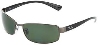 Ray-Ban Rectangular Metal Sunglasses