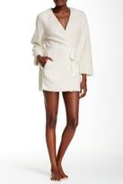 Josie Shaggy Wrap Robe