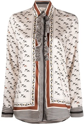 Altea Equestrian-Print Shirt
