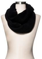 Merona Women's Knit Infinity Scarf Black