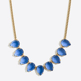 J.Crew Factory Teardrop gemstone necklace