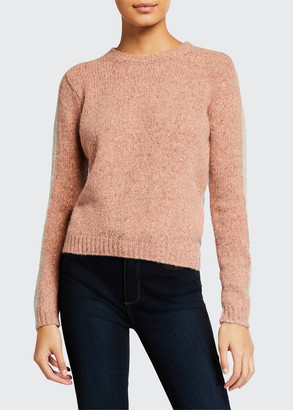 Majestic Filatures Crewneck Long-Sleeve Cashmere Sweater
